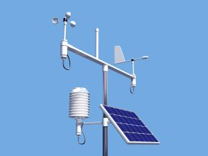 A weather station