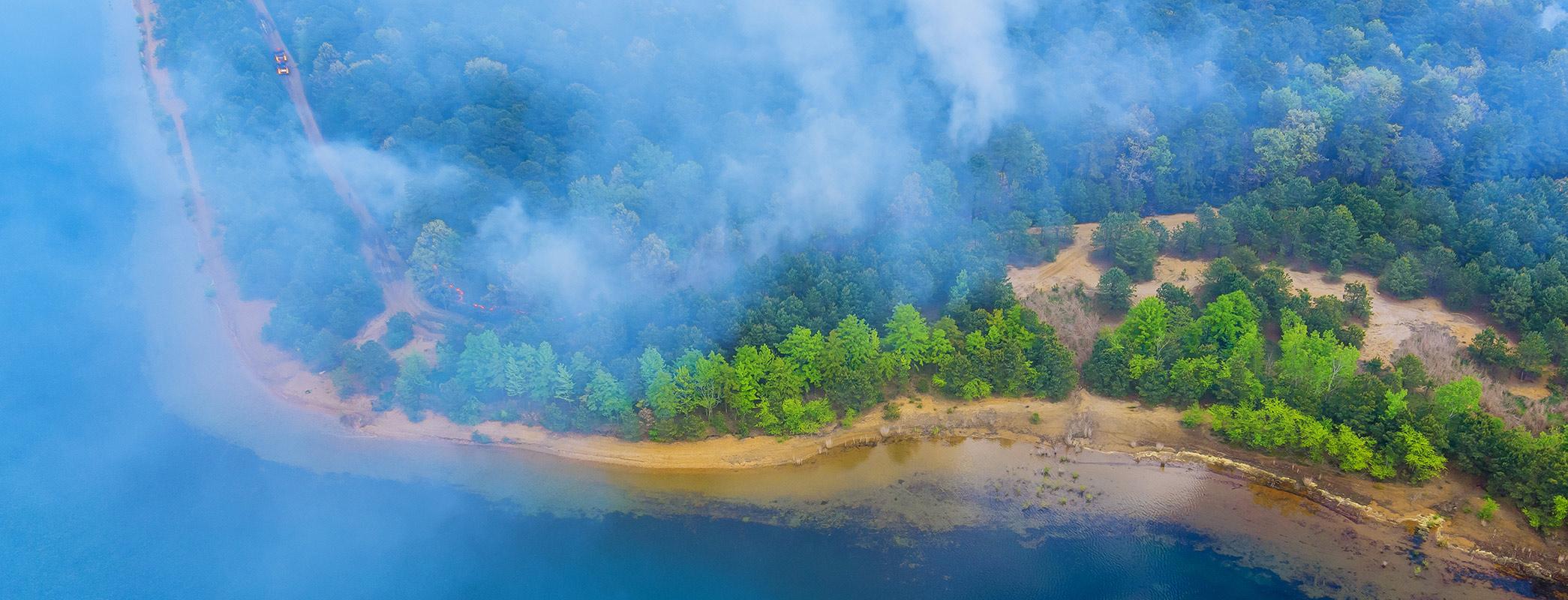 panoramic wildfire California