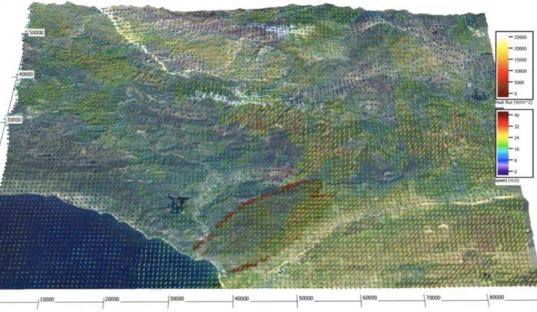 Wildfire behavior modeling